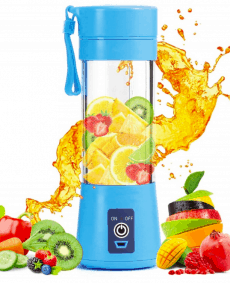 portable blender baby blauw